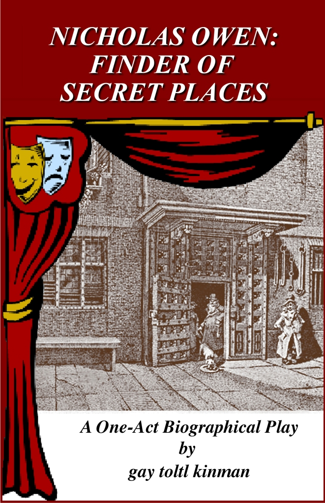 nicholas owen: finder of secret places
